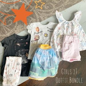 Girls 2T Outfit Bundle